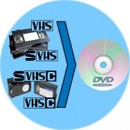riversamento vhs su dvd